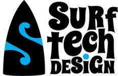 Surf Tech Design Logo
