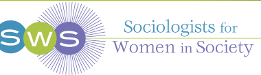 Sociologists for Women in Society Logo