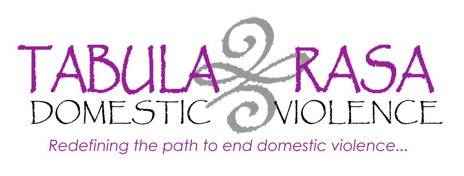 Tabula Rasa Domestic Violence Logo