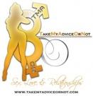 TakeMyAdviceONot Talk Radio Show Logo