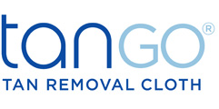tanGO™ Cloth USA-WORLD'S FIRST tan removal cloth Logo