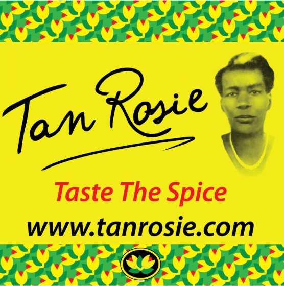 Tan Rosie Foods Logo