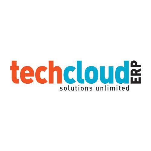 Tech Cloud ERP Software Solutions Logo