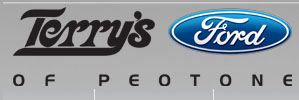 Terry's Ford and Lincoln Logo