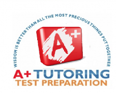 A+ Tutoring/ Test Preparation Logo