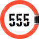 the 555 Collective Logo