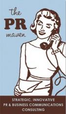 The PR Maven Logo