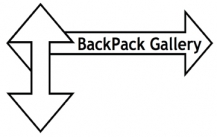 The BackPack Gallery Logo