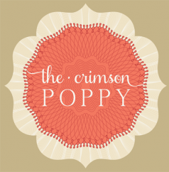 the crimson poppy Logo