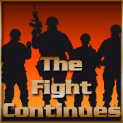 The Fight Continues Logo