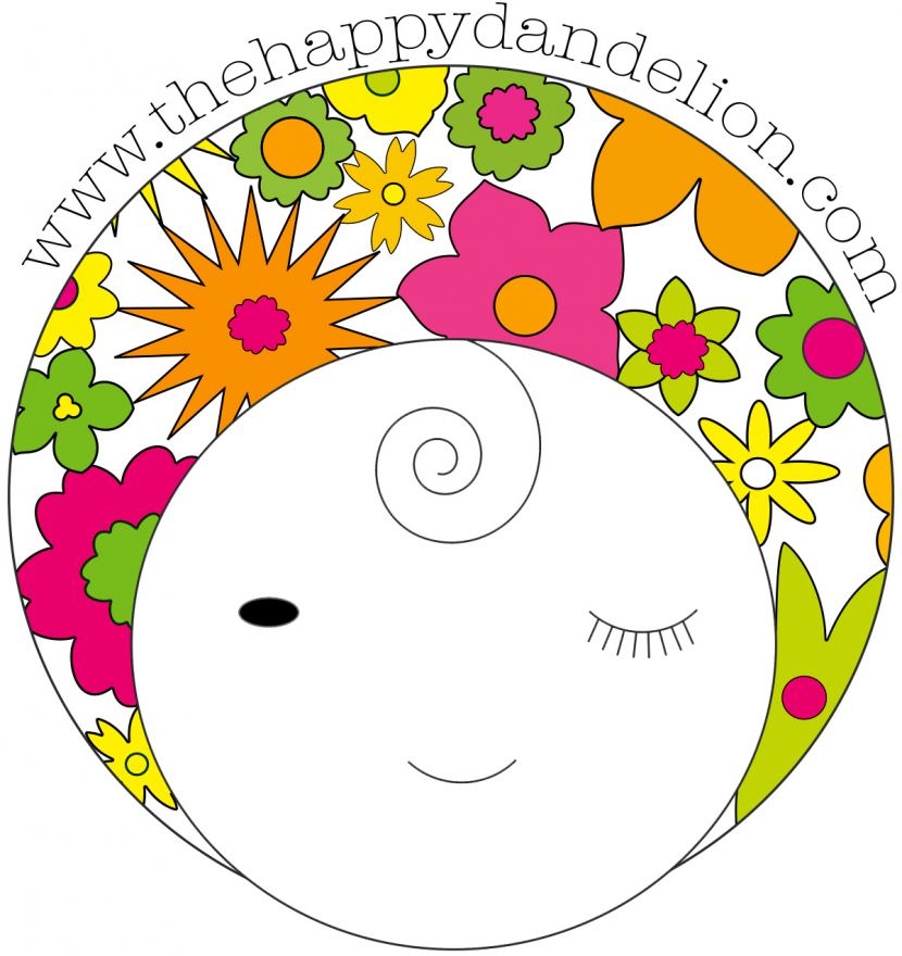 The Happy Dandelion Logo