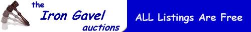 The Iron Gavel Auctions Logo