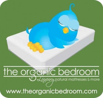 the organic bedroom Logo