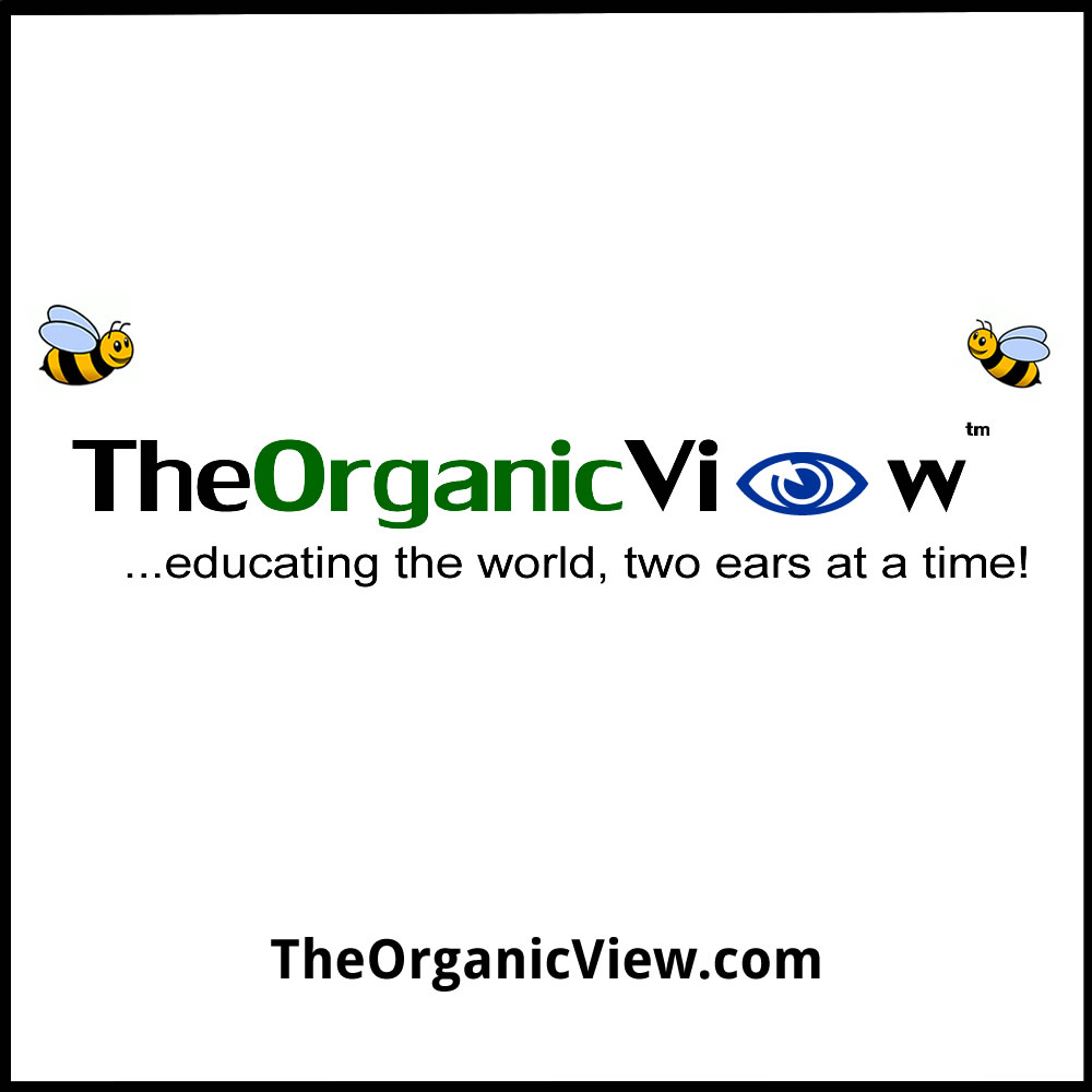 The Organic View Radio Show Logo