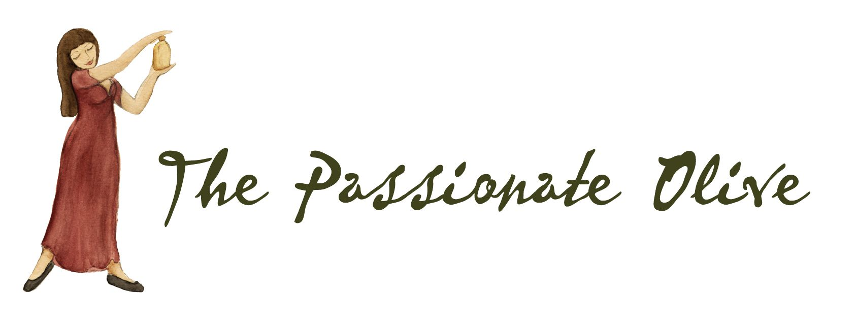 The Passionate Olive Logo