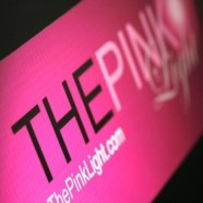 The Pink Light Model & Talent Agency Logo