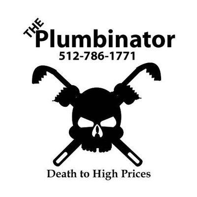 The Plumbinator Logo