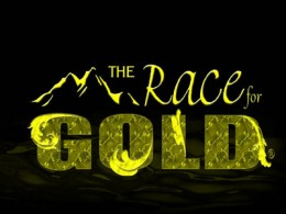 The Race For Gold Logo