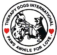 Therapy Dogs International Logo