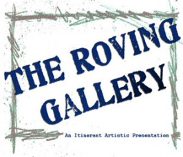 The Roving Gallery Logo