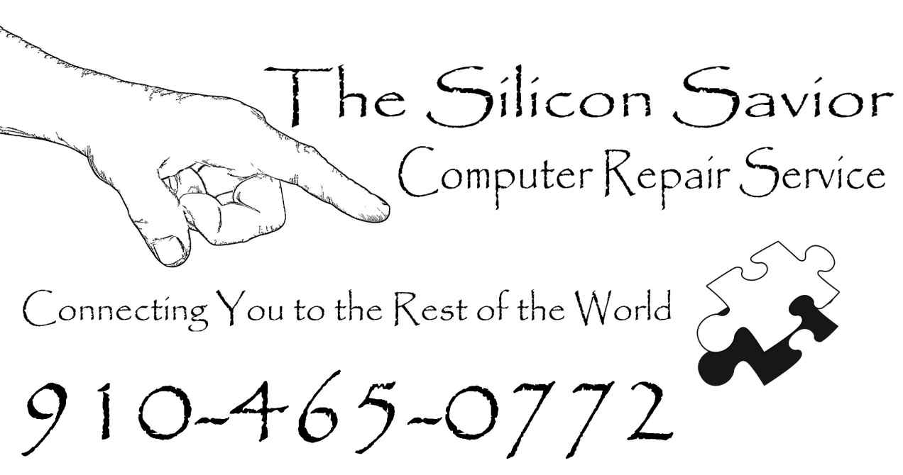 The Silicon Savior Computer Repair Service Logo