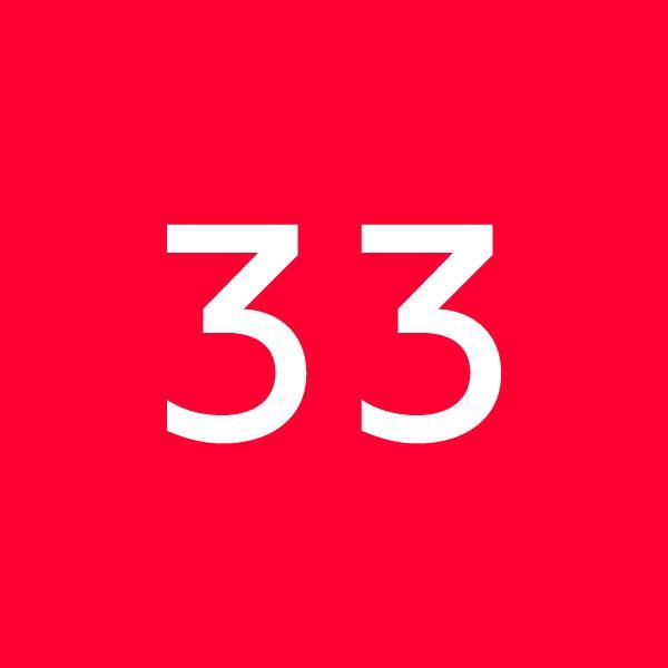 thirtythree Logo