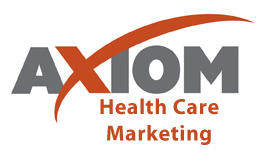 Axiom Health Care Marketing Logo