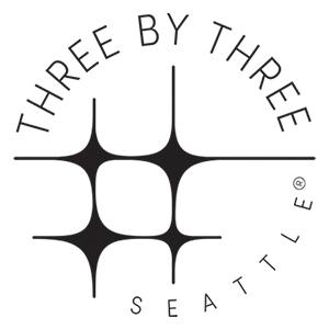 Three by Three Seattle Logo