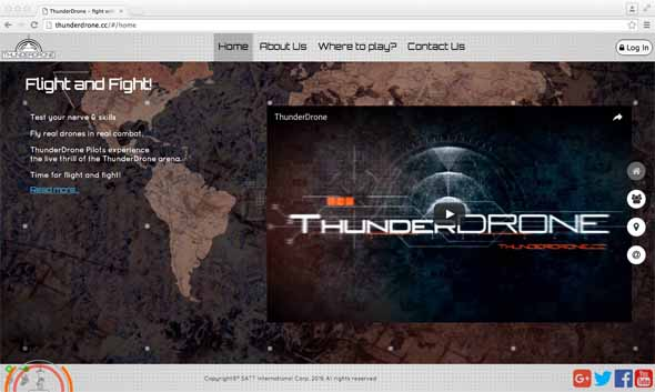 Thunderdrone Combined Combat Logo
