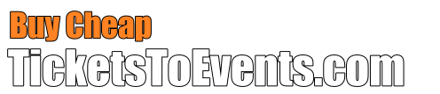 Buy Cheap Tickets To Events Logo