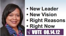 Tonia Johnson for Hennepin County Commissioner Logo