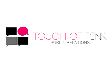 Touch of Pink Public Relations Logo