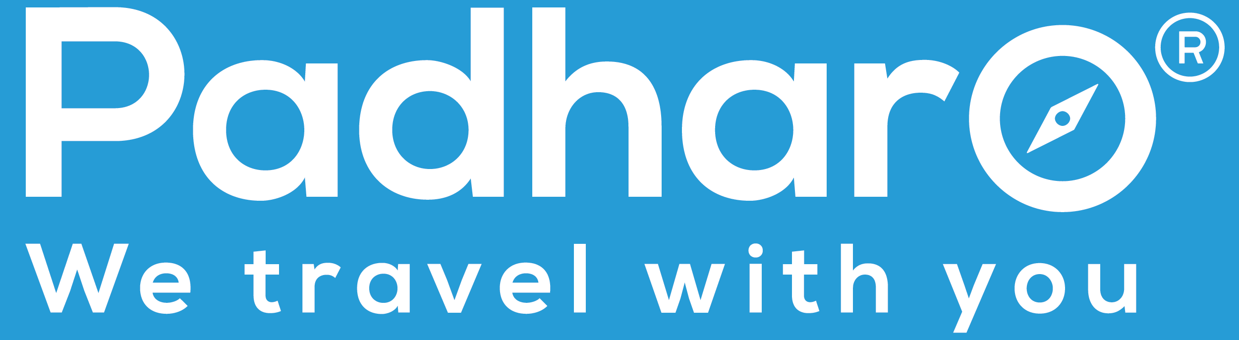 Padharo Travel Logo