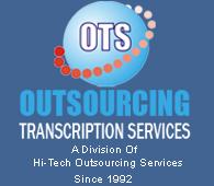 Outsourcing Transcription Services Logo