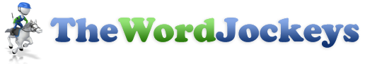 The Word Jockeys LLC Logo