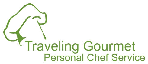 Traveling Gourmet Personal Chef Service Logo