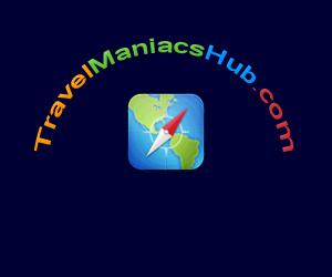 TravelManiacsHub.com Logo