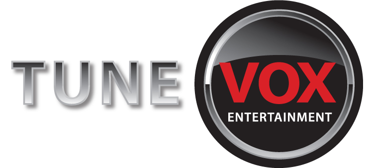 Tune  Vox Entertainment Logo