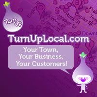 TurnUp Local Logo