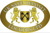 UK Safe Deposit Lockers Ltd. Logo