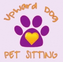 Upward Dog Pet Sitting Logo