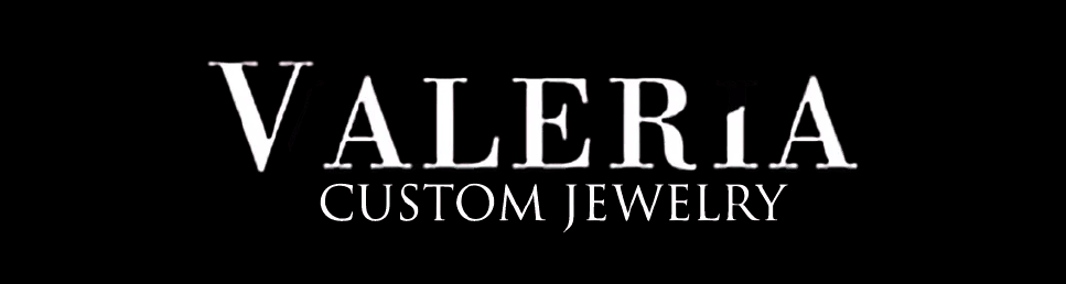 Valeria Custom Jewelry Logo