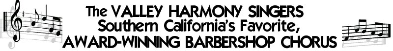 Valley Harmony Singers Logo