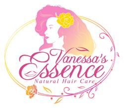 Vanessa's Essence Natural Hair Care Logo