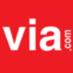 Via.com - Cheapest Flight, Hotels, Bus Booking Logo