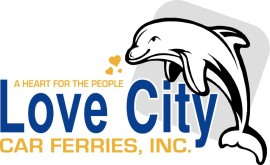 Love City Car Ferries, Inc. Logo