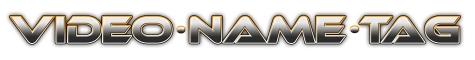 Video Name Tag, Recom Group Logo
