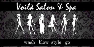 Voila Salon and Spa Logo