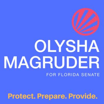 Olysha Magruder Campaign Logo