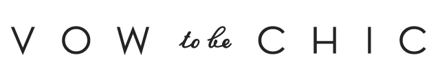 Vow To Be Chic Logo